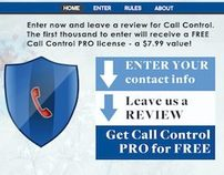 Call Control Facebook Promo Design