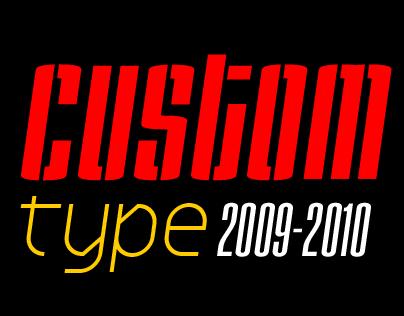 Custom type 2009-2010