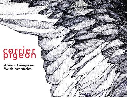 Carrier Pigeon Mag (Website Redesign)