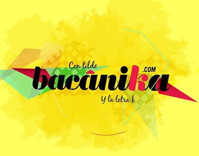 Bacánika - Cultura para jóvenes