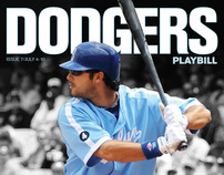 Dodgers 2011 Playbill Covers