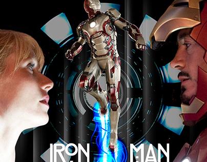 [2014s Art] Iron Man Poster - Glasgow
