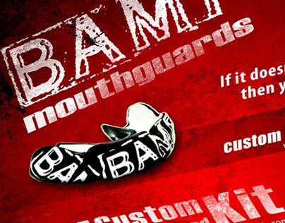 BAMF Mouthguard Package Design