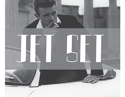 Jet Set: An Original Typeface