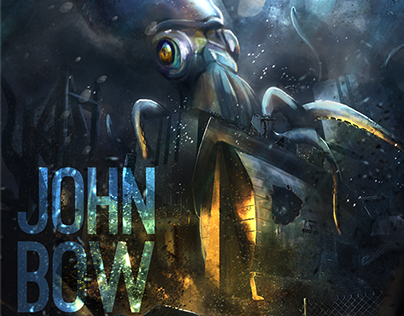 JHON BOW live Le Parc 2014 - Ilustration cover disc