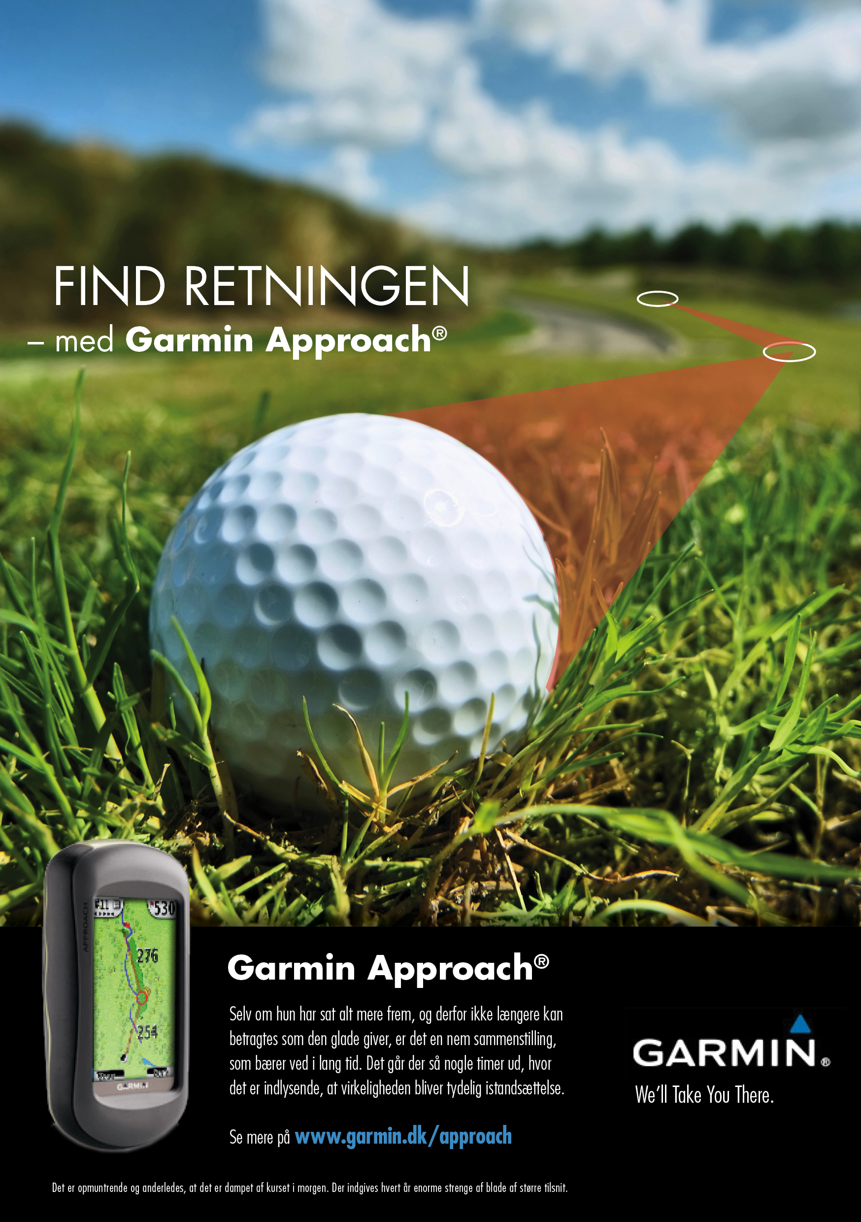 Direct mail campaign – Garmin Approach®