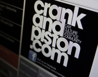 crankandpiston.com : Brand Identity and Application