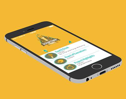 Boomtown Event iOS App