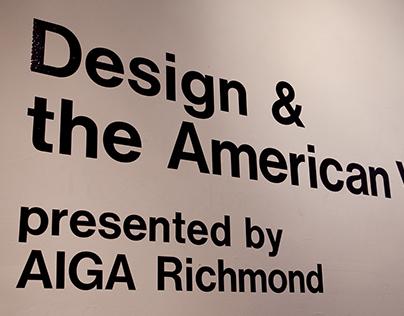 Design & the American Vote: plan, implement, exhibit