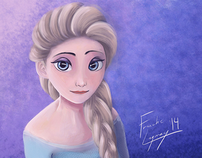Digital Illustration: Elsa