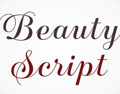 Beauty Script Typeface