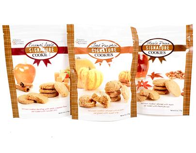 Fall Cookies - Simply Indulgent Gourmet
