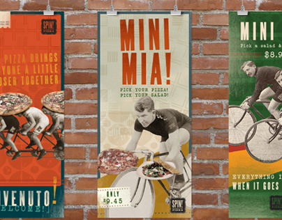 SPIN! Pizza Posters