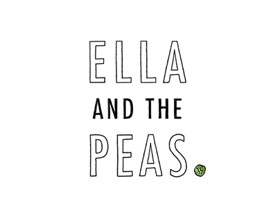 Ella & The Peas // storybook illustration
