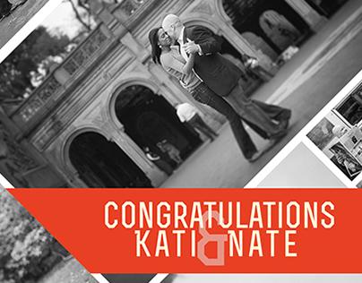 Katis and Nates Engagement Poster