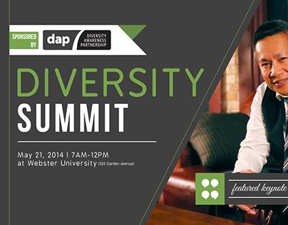 Diversity Summit 2014 Invitation/Program