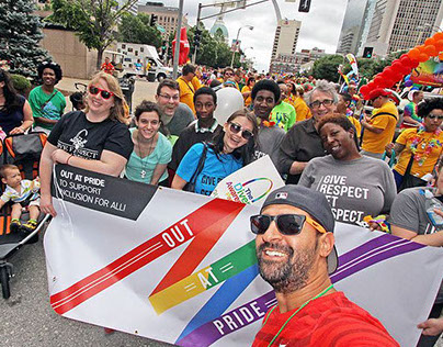 St. Louis PRIDE Parade Banner