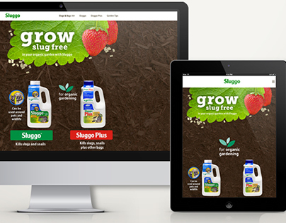 Sluggo Responsive Website