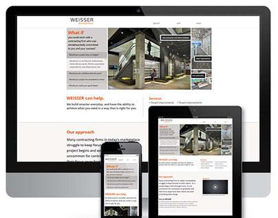 Weisser Branding and Responsive Web