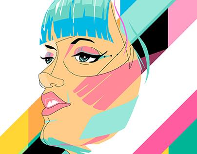 Pop Portrait : Lily Allen