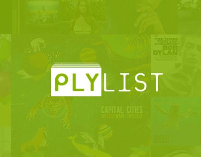 Plylist Music Player