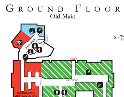 Map of Old Main