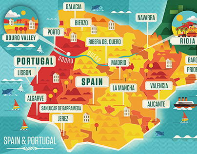 Majestic Wine Maps