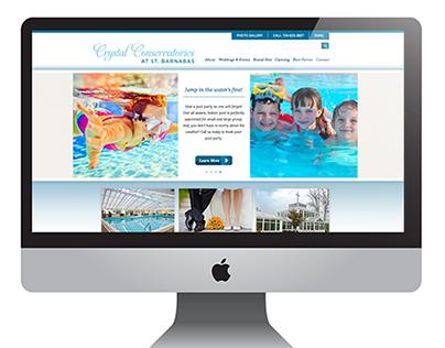 Crystal Conservatories Website Design