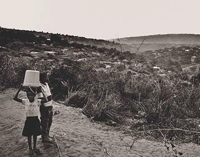 A Village in The Capital Republic Democratic of Congo