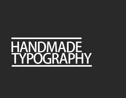 My name in Typography