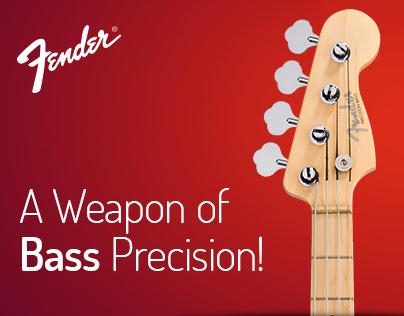 Fender Bass Precision - Website