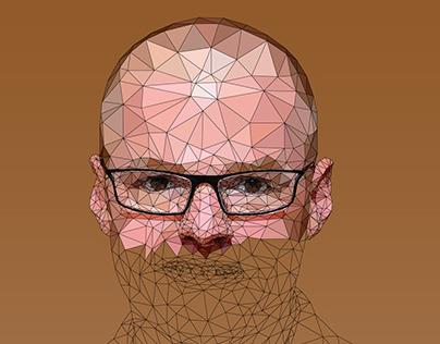 Illustration | Heston Blumenthal Low Poly