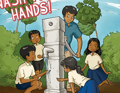Wash Your Hands! // public health booklet