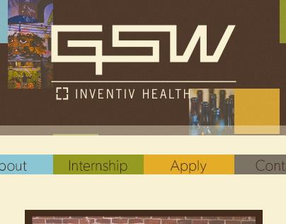 Intern Website for Inventiv Health