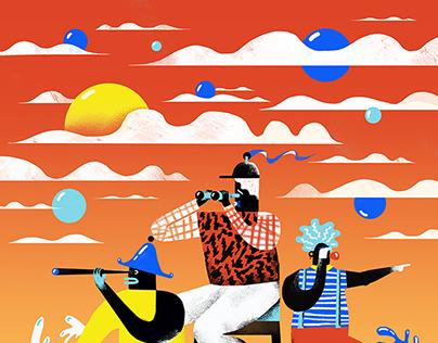 Personal Illustrations 2014 summer