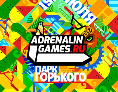 ILLUSTRATIONS FOR ADRENALIN GAMES 14