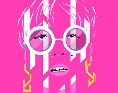 Pop Portrait : Femme