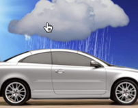 Volvo: C70 Cloud Banner