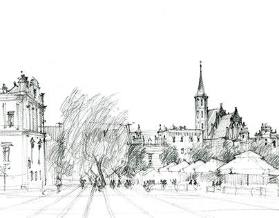 Travel sketches 2014 Chełmno
