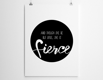 Illustration - Fierce