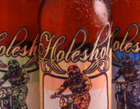 Holeshot Beer Bottle