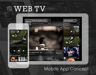 Web TV Mobile App