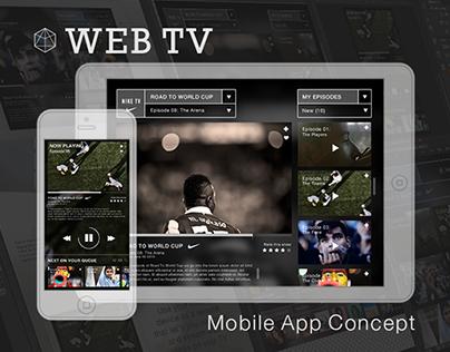 Web TV Mobile App