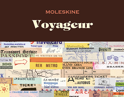 Moleskine / Voyageur