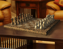 Chess Set in 3D