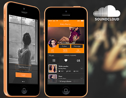 Soundcloud iOS Redesign