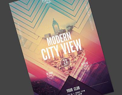 Modern City View Flyer