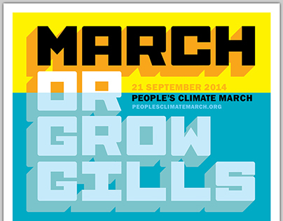 Peoples Climate March Poster