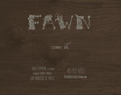 Boutique Fawn Website