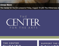 The Center for the Arts website